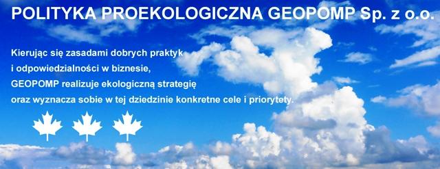 Proekologia GEOPOMP-1