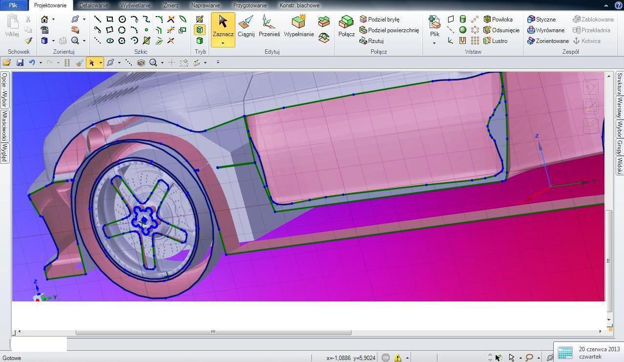 Samochód 3D-1
