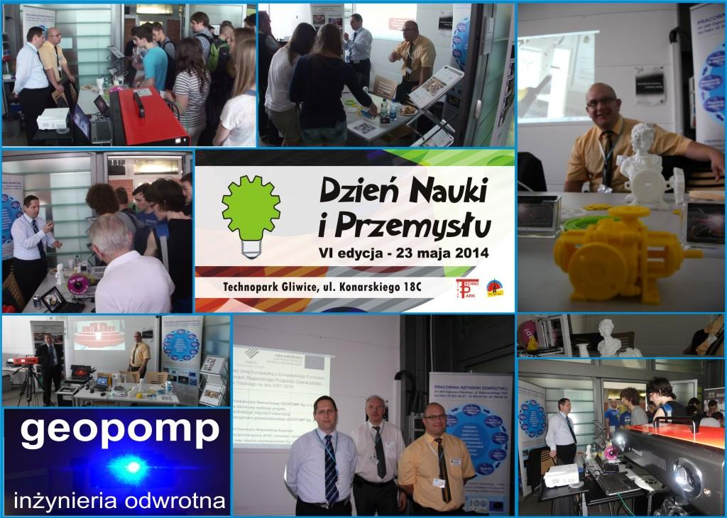 GEOPOMP-VI Dni Nauki i Przemysłu Gliwice 2014r